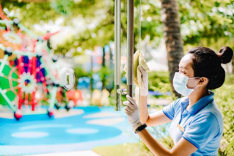 Clean Promise initiatives are also maintained at Kids Club. Photo by InterContinental Phu Quoc Long Beach Resort.