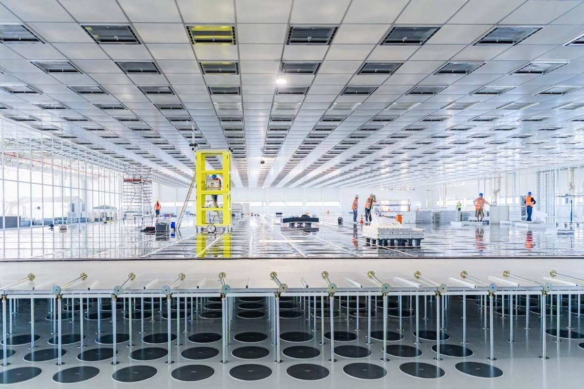 The new Bosch wafer fab in Dresden. Photo by: Bosch.