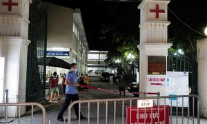 Lung cancer patient with Covid-19 dies in Hanoi