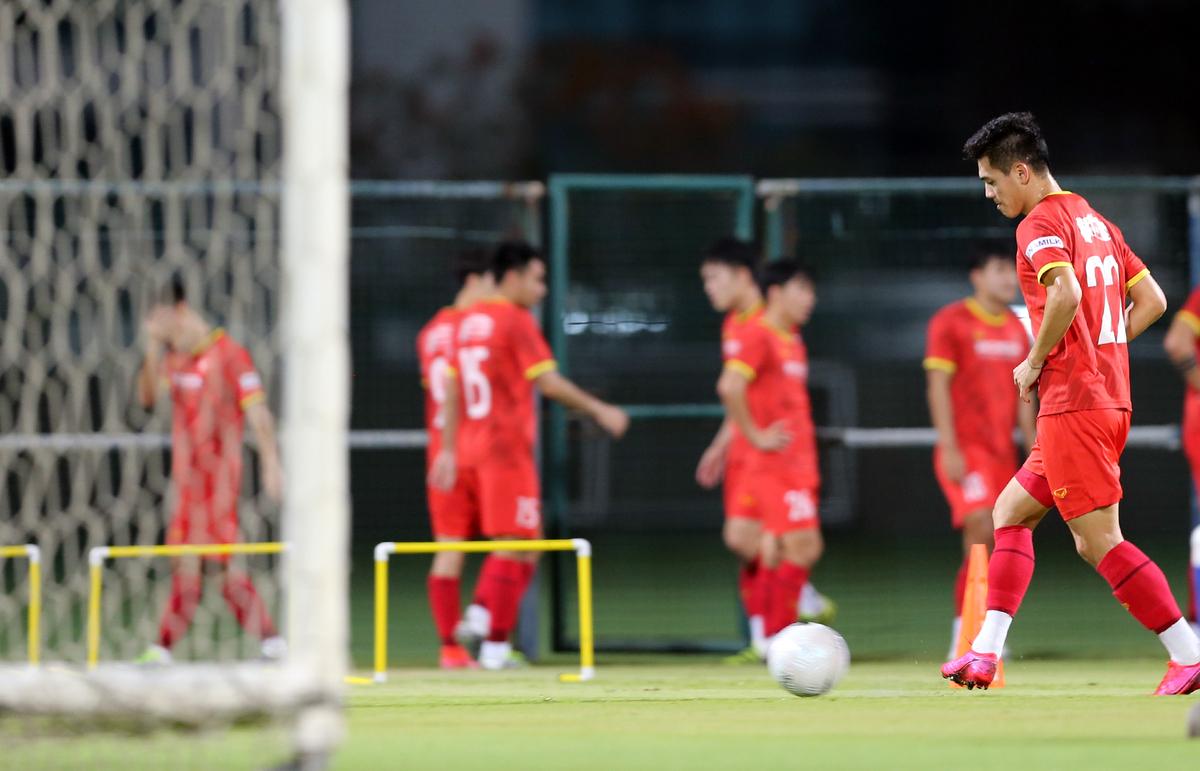 Vietnam prepare for UAE clash
