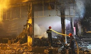 House fire kills 6 in central Vietnam