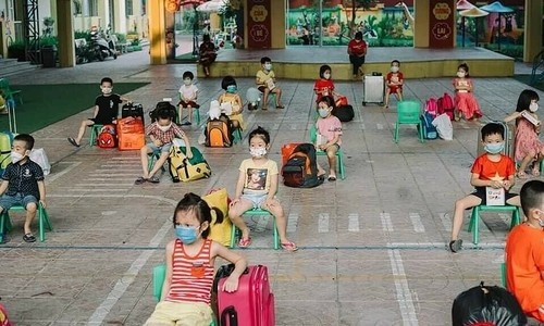 Children in quarantine, some issues for authorities to consider