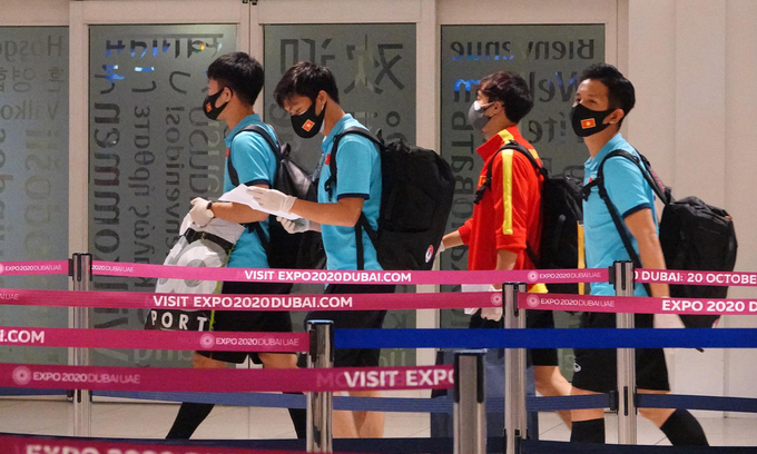 Only 7 days quarantine for national football team