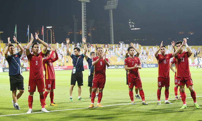 FIFA praises Vietnam's historic feat at World Cup qualifiers