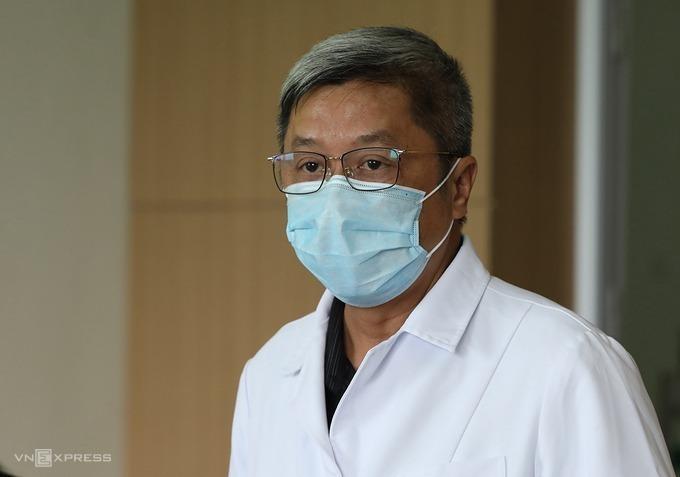 Vietnams Deputy Minister of Health Nguyen Truong Son. Photo by VnExpress/Ngoc Thanh.
