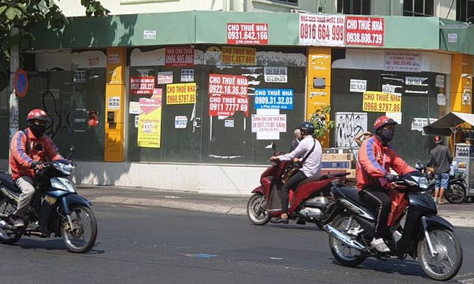 HCMC business premises rents continue downward spiral