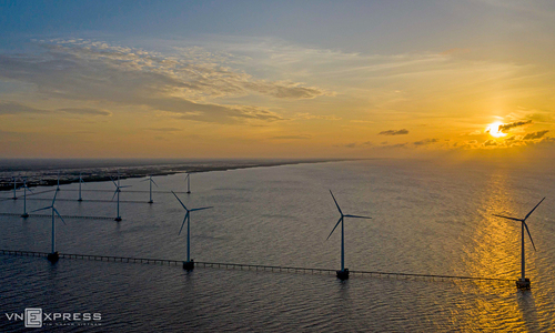 Energy association wants nation's offshore wind power capacity septupled