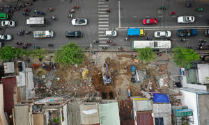 Lands for Saigon's 2nd metro line to be fully acquired this year