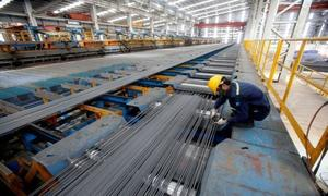 Steel exports to China double
