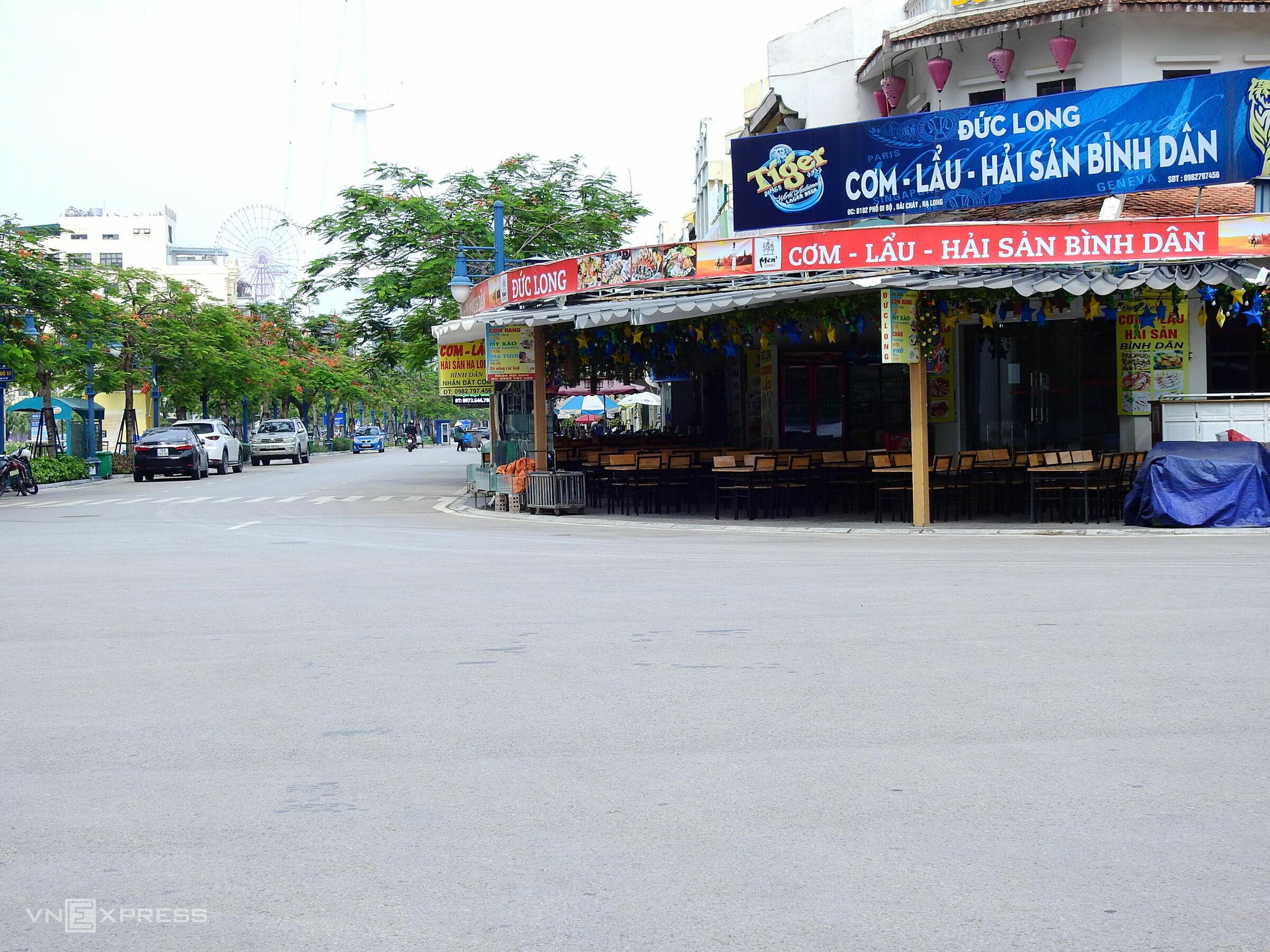 External visitor ban desolates once-busy Ha Long Bay