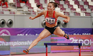Athletics star grabs another Olympic slot for Vietnam