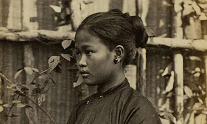 A sepia-toned foreigners' perspective on 19th century Vietnam