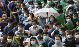 9,000 gather for Covid-19 jab in HCMC