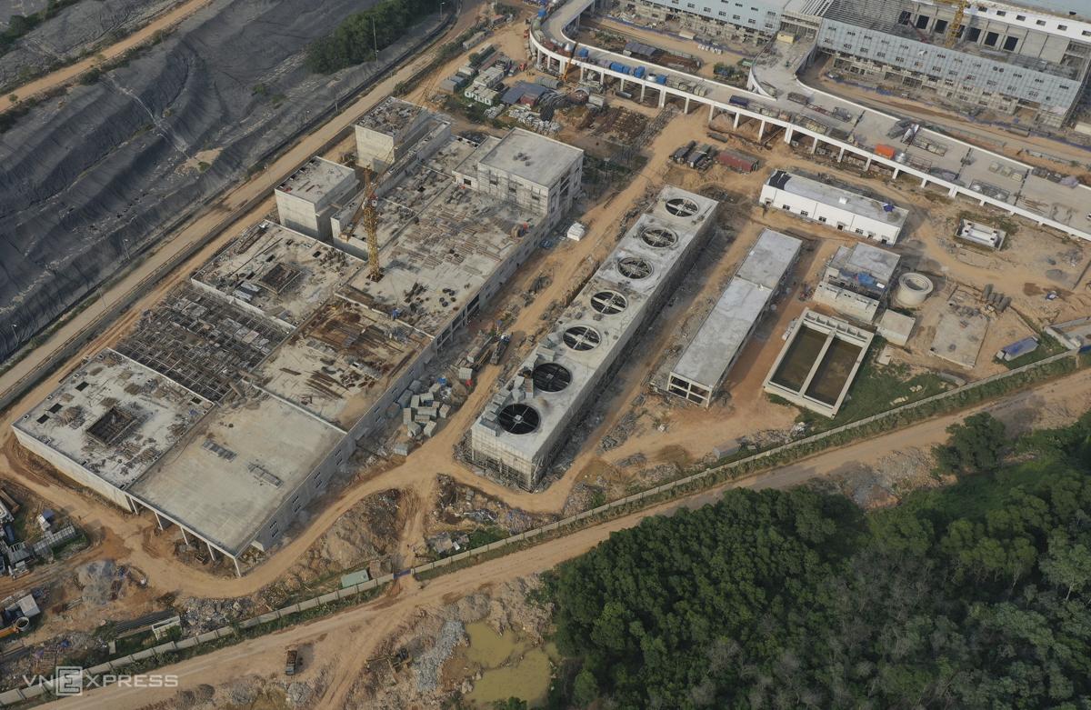 Nhà máy xử lý nước thải được thiết kế để xử lý 1.740 tấn nước thải mỗi ngày, dự kiến sẽ hoàn thành vào tháng 8.