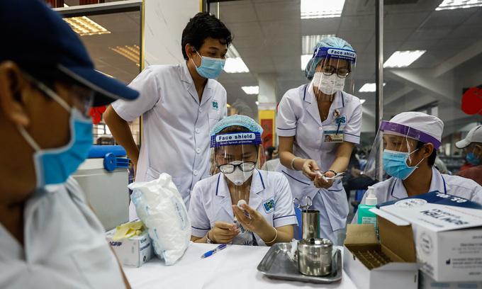 Vietnam nears vaccination fund goal