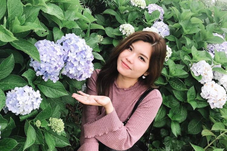 Dang Thi Bao Tran is in Awaji Island, Hyogo Prefecture, Japan, in June, 2021. Photo courtesy of Tran.