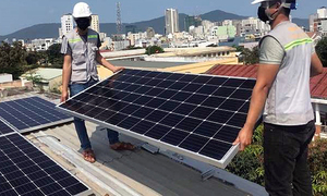 US-backed clean energy project launched in Da Nang