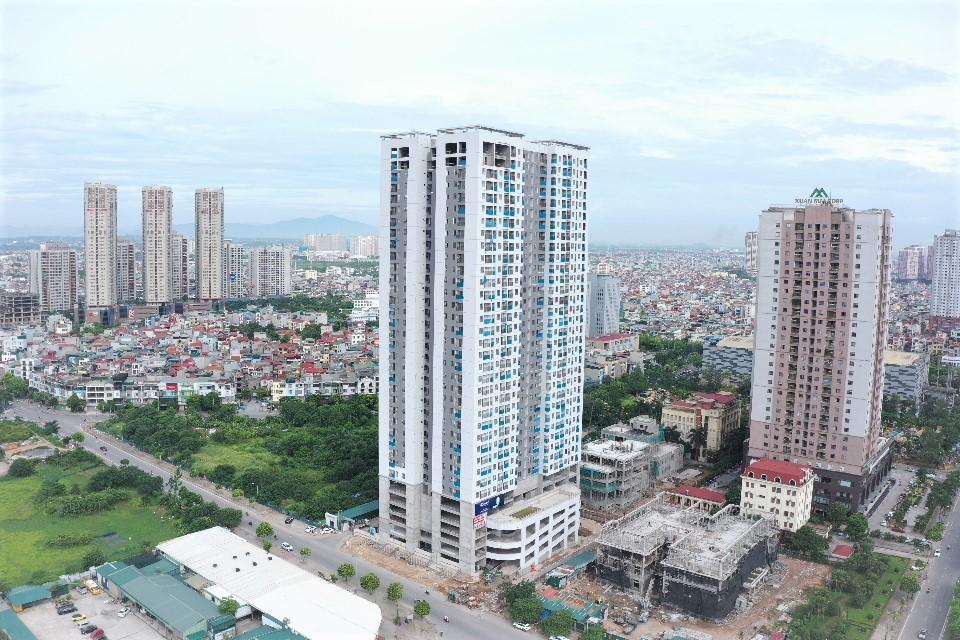 Fu Thin Green Park cung cấp hơn 500 căn hộ thông minh và dự kiến bàn giao vào năm 2021