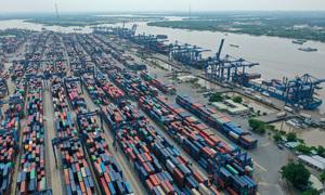 Trade deficit nears $1.5 bln