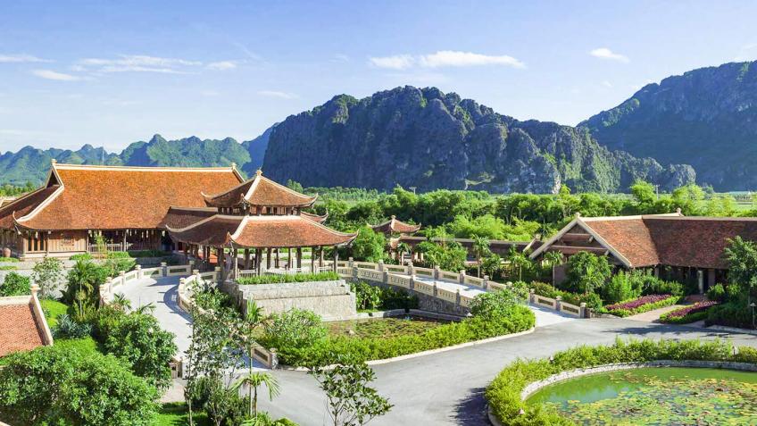 Photo courtesy of Emeralda Ninh Binh Resort.