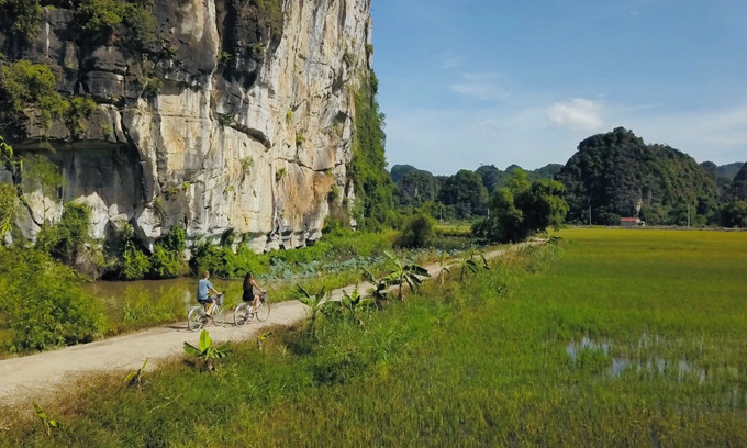 Nature-centered cycling tours a rising new trend