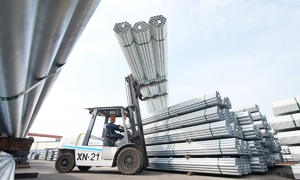 Hoa Phat construction steel sales down three months straight