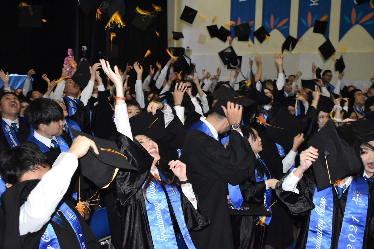 Graduation ceremony. Photo by: AIS