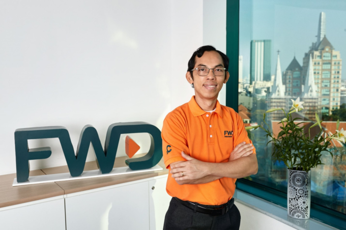Dao Huu Phuc - Deputy General Director of Insurance and IT Operations of FWD. Photo by: FWD