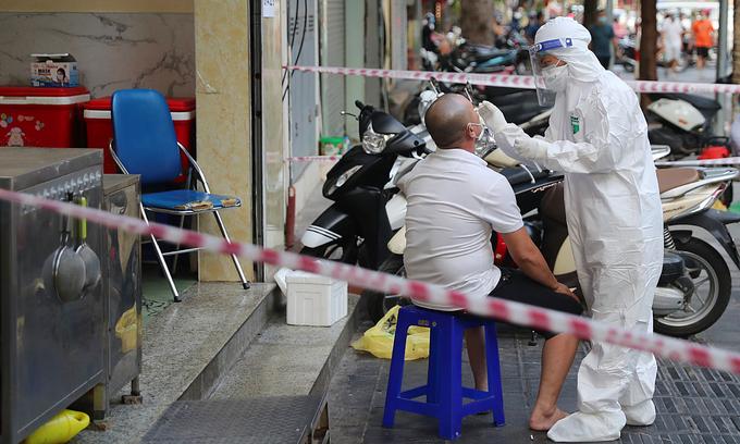 Hanoi Covid-19 outbreak 'unpredictable': experts