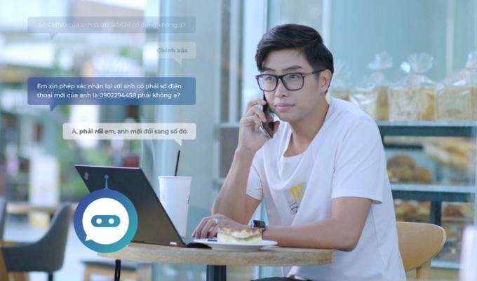 FPT.Ais virtual assistant switchboard helps businesses optimize time for customer care. Photo by: FPT