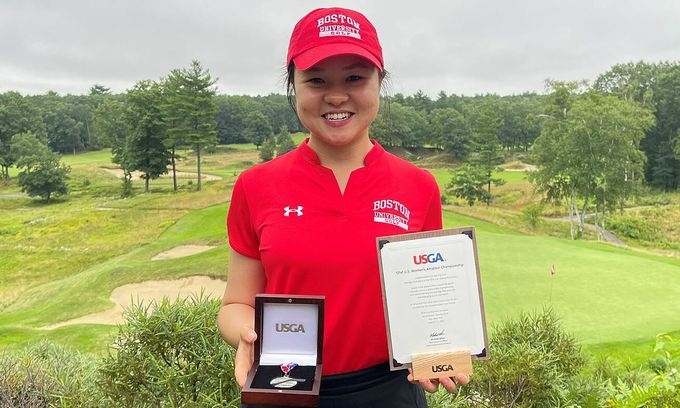 Female golfer first Vietnamese to compete in prestigious amateur US tournament