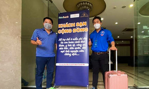 HCMC hotel welcomes frontline Covid workers