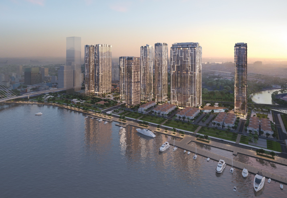 Marriott's first branded residence project in Vietnam is also its largest. Photo: Masterise Homes