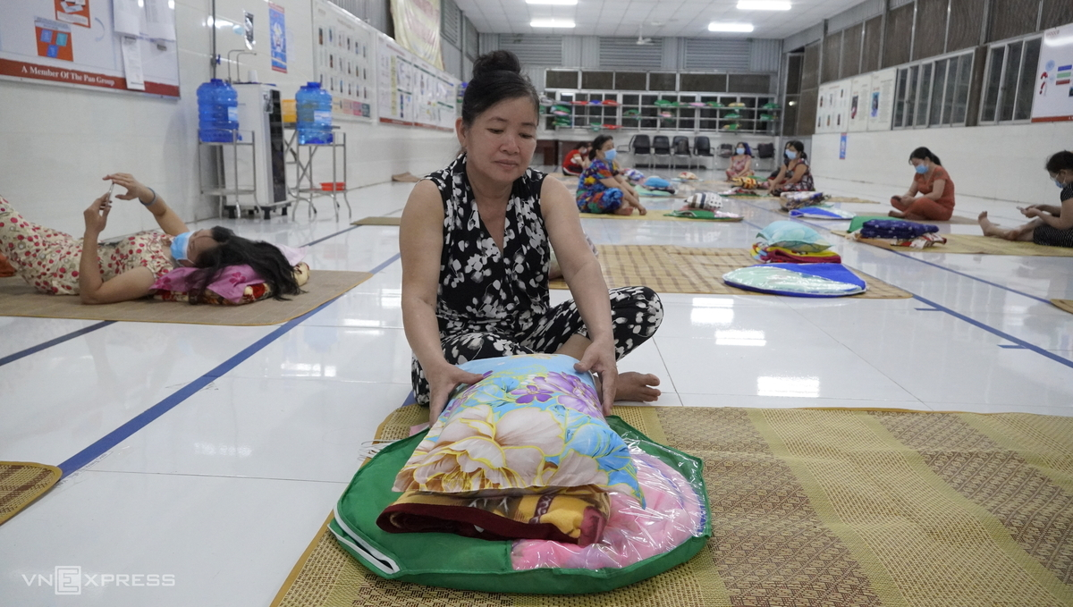 Workers adapt as Long An factory becomes their home