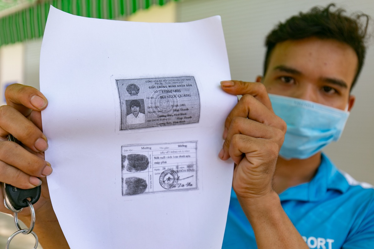Many photocopy shops have increased their prices to VND20,000 ($0.87) a page since people are required to have copies of their ID cards before the Covid tests.