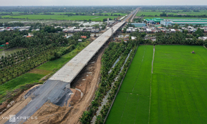 Inter-Mekong Delta expressway to be shortened