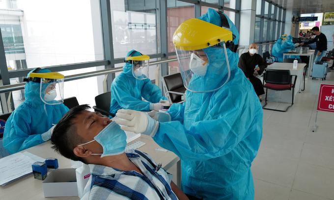 Vietnam daily Covid-19 cases reach record high 7,295
