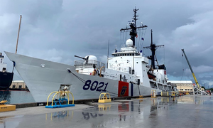 US-donated coast guard vessel arrives in Vietnam