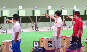Veteran shooter exits Tokyo Olympics
