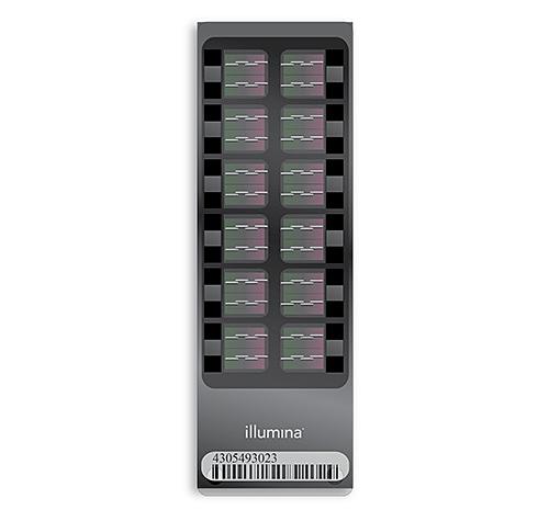 High-throughput Illumina HumanCytoSNP-12 BeadChip. Photo by: Biomedic.