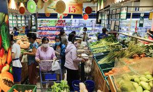 Saigon supermarkets to close at 5 pm
