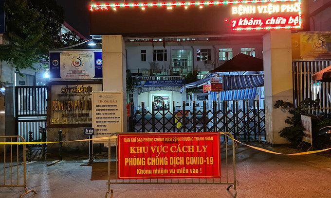 Hanoi hospital locks down after finding coronavirus cluster