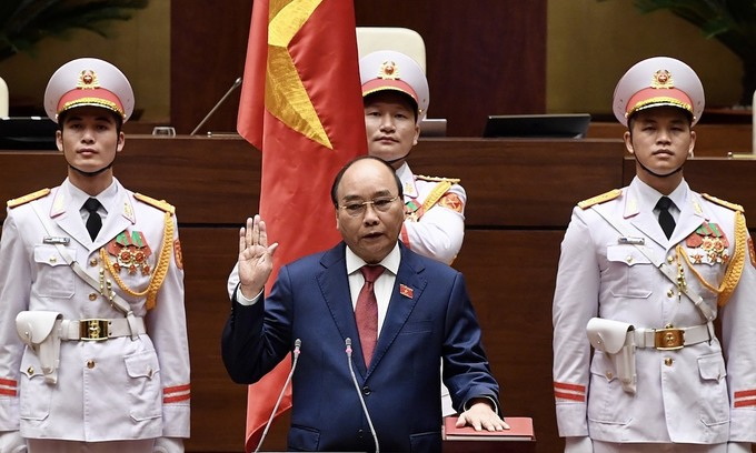 New parliament ratifies President Nguyen Xuan Phuc's election