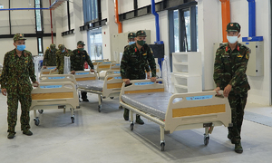 Defense ministry given $67 mln for coronavirus fight