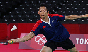 Vietnamese badminton veteran exits Tokyo Olympics