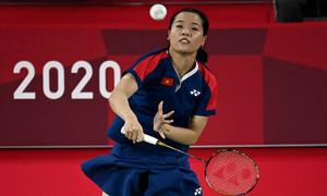 Vietnamese female badminton player happy despite Olympic elimination
