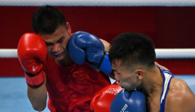 Vietnamese boxer makes Tokyo Olympics exit