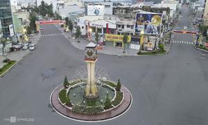Dong Nai, Long An deserted amid Covid restrictions