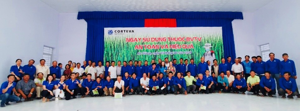 Product Stewardship Day 2019 in An Giang. Photo by: Corteva Agriscience