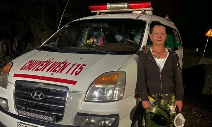 Man rents ambulance to pass Covid checkpoint